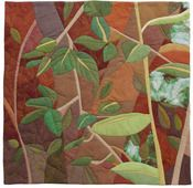 This is a #quilt! Love the vines and leaves