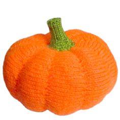 Pumpkin  ~ Free Knitting Pattern