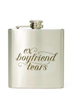 Ex Boyfriend Flask - Thanks Nasty gal, Coachella purchase #1