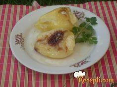 Paprike punjene sa sirom glavna jela, sa sirom, punjen sa, paprik punjen