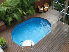Pool ideas on pinterest swimming pools pools and pool decks for Above ground pool landscaping ideas australia