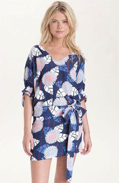 Diane von Furstenberg 'Edna' Printed Silk Dress