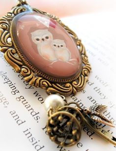 owl necklace LOVE!!
