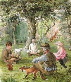 The Secret Garden- art by Tasha Tudor