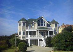 Beautiful, soundfront wedding home for an Outer Banks wedding in Duck, NC.