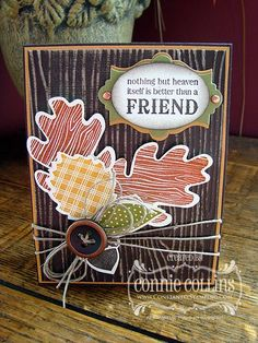 Stampin' Up! Fall  by Connie Collins at Constantly Stamping