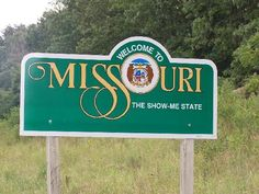 missouri welcome sign - Google Search