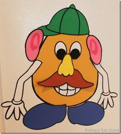 Magnetic Mr. Potato Head to learn body parts