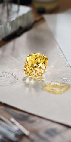 The one and only Tiffany Diamond, 128.54 carats of priceless beauty.