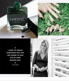 THE PROFESSIONAL: THEA GREEN - The nails inc. founder talks kale, rebranding, and Alexa Chung with The Sephora Glossy> #nailpolish #SephoraNailspotting