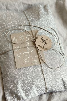 simple packaging + sparkle