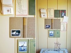 #DIY book picture frame