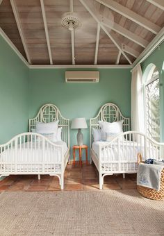twin guest room | Mimi and Hill Interiors