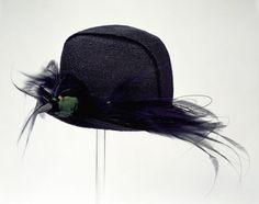 hats, jone c1920, 1920s hat, museums, straw, albert museum, son, 1920s headwear, bird of paradise