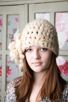 $25 Crochet Flower Hat