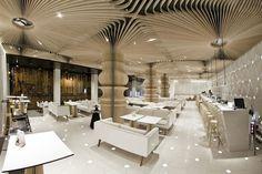 interior design, cafe interiors, ceiling design, studio mode, graffiti cafe, cafe design, design studios, bulgaria, bar designs