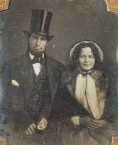 Daguerreotype Attractive Young couple