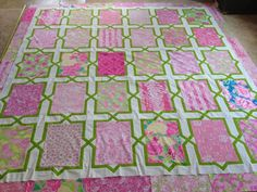 The Lilly Quilt - perfection!