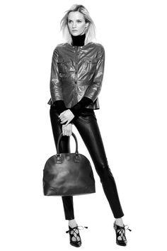 The Leather Pant: Ladylike vs Tomboy | The Tory Blog
