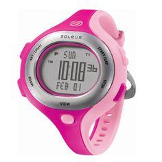 Sanity is Slow. Run Wild. Soleus Chicked Watch. $55 #Soleus #Running #Watch #Pink