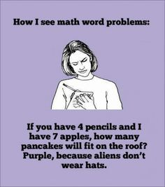This is how I see math.