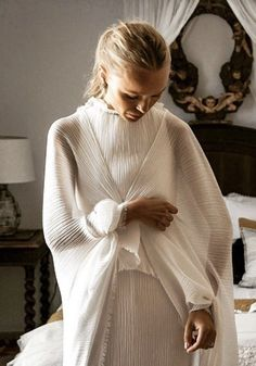 Wedding dress designed by Spanish designer, Lorenzo Caprile. | Pin discovered by Kelly's Closet bridal boutique in Atlanta, Georgia