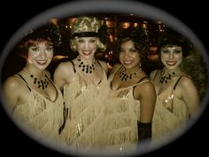Flapper girls at The Edison flapper girls