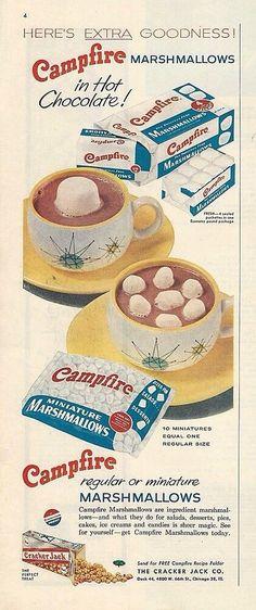 1950's Campfire Marshmallows... In Franciscan starburst!
