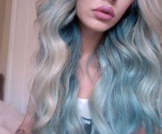 blue hair | Tumblr