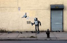 Banksy | Better Out Than In: an artist residency on the streets on New York | Day 28