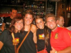 Experiencing Spain win the world cup...while in Spain. PRICELESS!