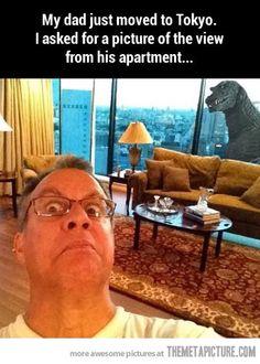Awesome dad! Lol