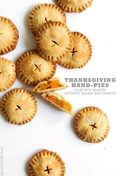 Thanksgiving Hand-Pies with Real Food by Dad