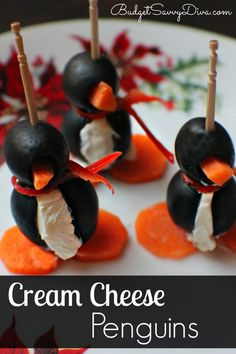 Cream Cheese Penguin Recipe