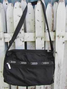 Vintage 80's LeSPORTSAC Parachute Classic Hobo by glamtownvintage, $22.00