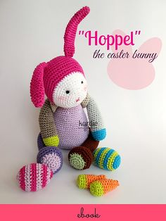 "Ravelry: ""Hoppel"" the Easter Bunny pattern by Lucia Förthmann"