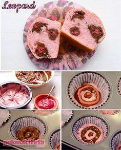 Leopar desenli cup cake nasıl yapılır? | Mutfak | Pek Marifetli!