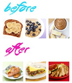 Pre/Post workout food ideas