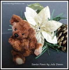 SANTA PAWS by Bears by Julie Dawn.