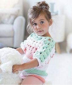 Amelia Crochet Tunic, de Paloma Perez. http://www.ravelry.com/patterns/library/amelia-crochet-tunic
