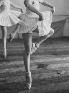 Ballet & Bobby socks...love this look