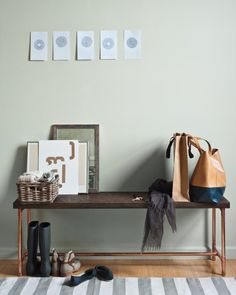 DIY bench with copper pipes, use PVC paint copper or metal?