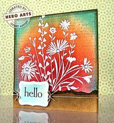 Hero Arts Cardmaking Idea: Hello!