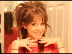 Hair Tutorial-Lindsey Stirling Peacock Hair. I'm totally trying this when i get a chance.