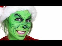 ▶ The Grinch Christmas Makeup Tutorial - YouTube