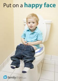 FamilyShare.com l How to potty train your toddler