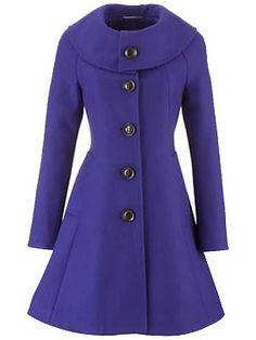 Purple Winter Coat. #watchwigs www.youtube.com/wigs