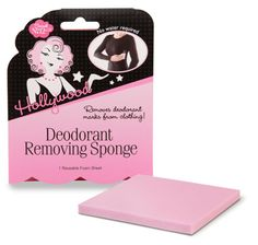 Deodorant removing sponge and 3 more fashion lifesavers every woman should own: http://blog.womenshealthmag.com/beauty-style-buzz/double-sided-tape/