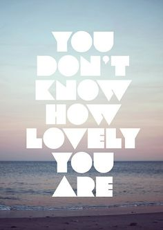 you don't know...