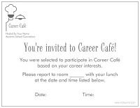 career cafe idea #2